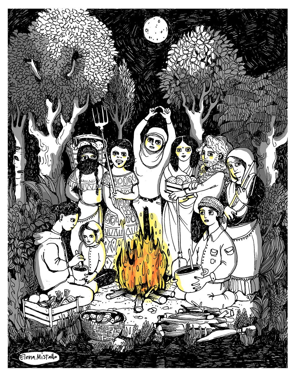 fuego de las mujeres